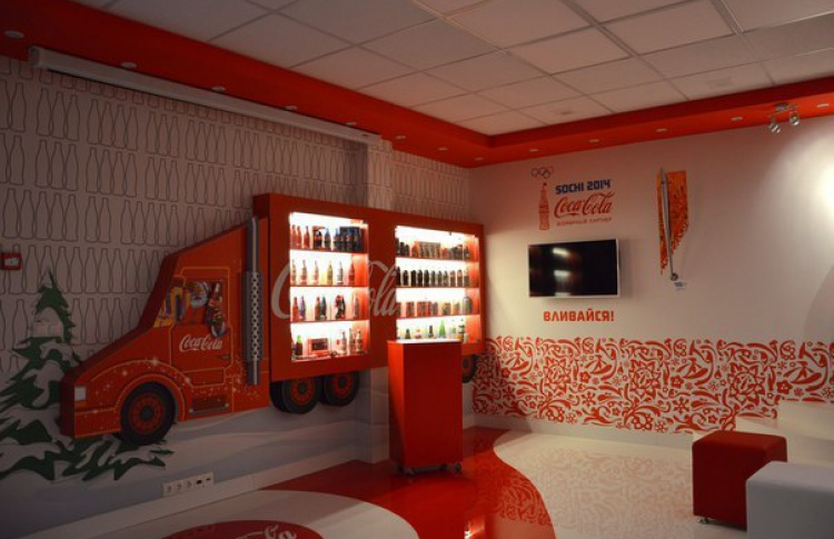 В городе открылся музей Coca-Cola с бесплатными экскурсиями и дегустациями