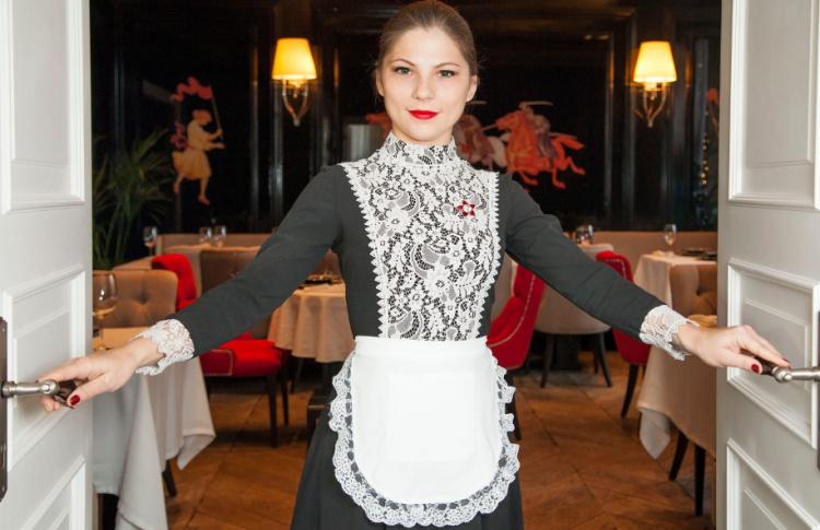 Работа для девушки официанткой в москве заработать моделью онлайн в островной