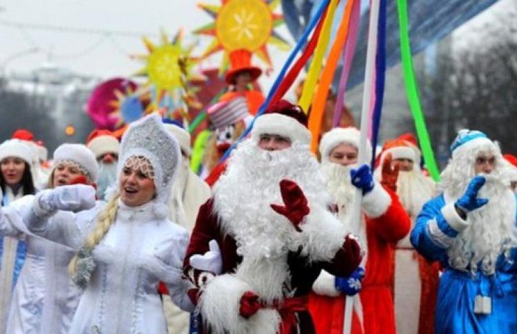Рождественские гулянья в Малиновке