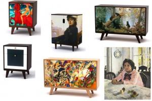 Третьяковка и Depst выпустят коллекцию мебели