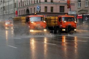 Москву вымоют шампунем в пятницу ночью