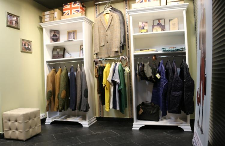 Магазин мужской одежды и аксессуаров