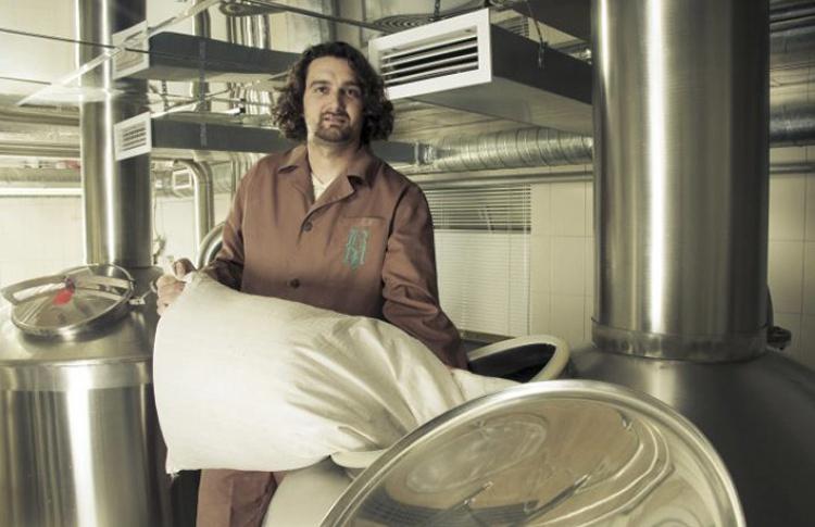 Гийом Денэйер — шеф-пивовар ресторана «Метрополь»