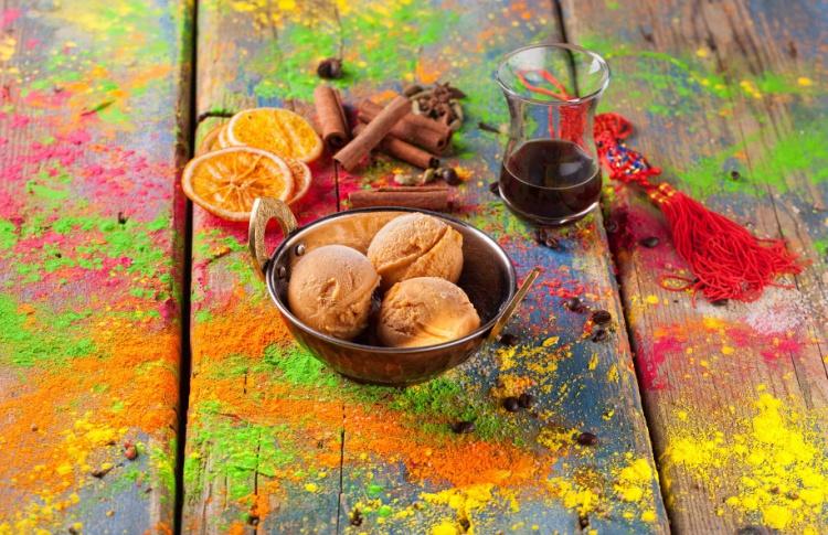 Мороженое из гуавы с карри (150 р.) в «Жизни Пи»