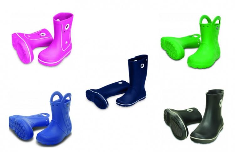 Весело по лужам: детские резиновые сапоги