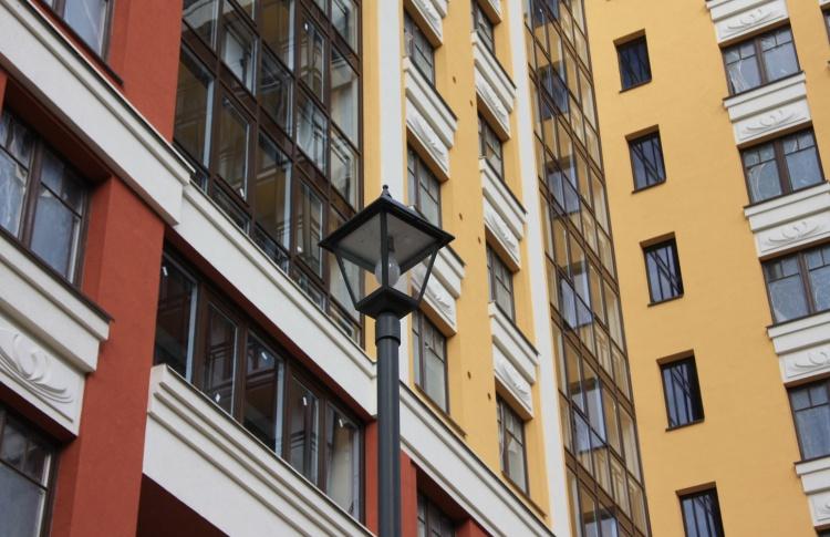 В Петербурге появился первый жилой дом с собственным газгольдером