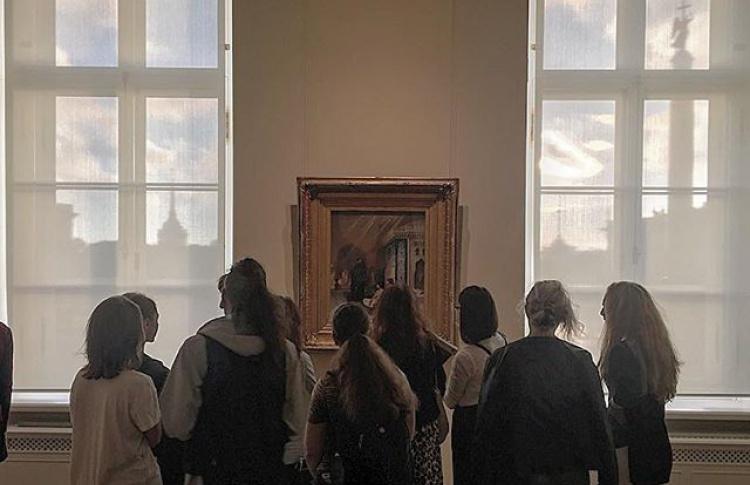 Образы Эрмитажа – в Михайловском театре