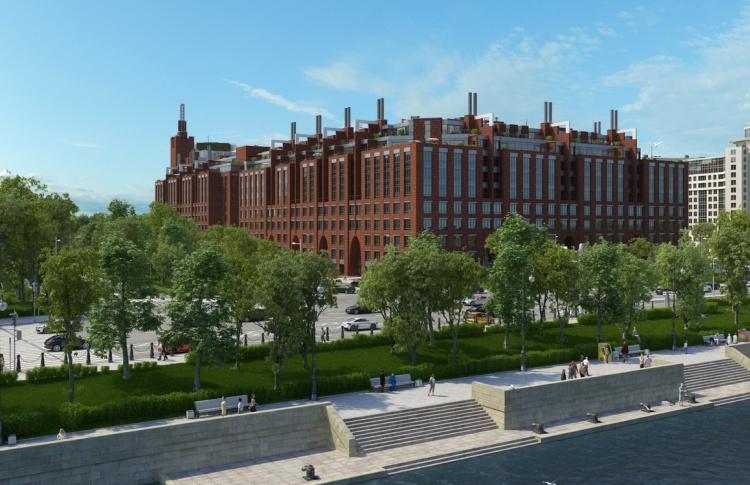Топ-5 новых домов на набережных Петербурга
