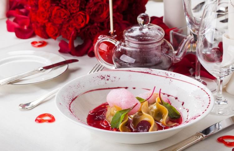 День святого Валентина в Four Seasons Hotel Lion Palace St. Petersburg
