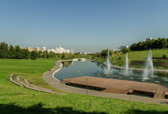 Парк Олимпийской деревни - Фото №5