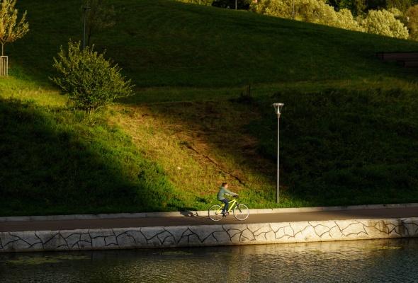 Парк Олимпийской деревни - Фото №4