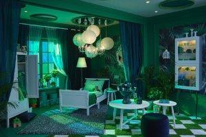 IKEA воссоздала интерьеры комнат из известных книг