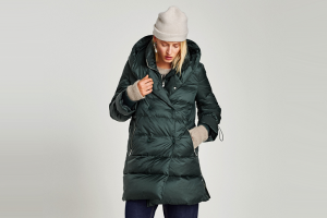 Теплые пуховики и стеганые пальто на зиму от 5000 рублей