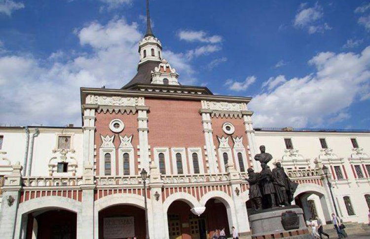 Царская башня Казанского вокзала