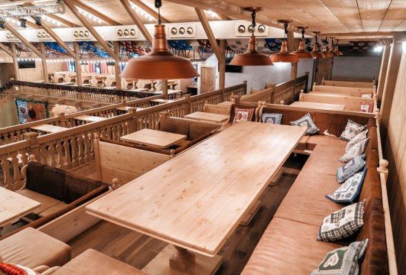 Шоу-ресторан «Альпенхаус» с собственным пивным цехом - Фото №3