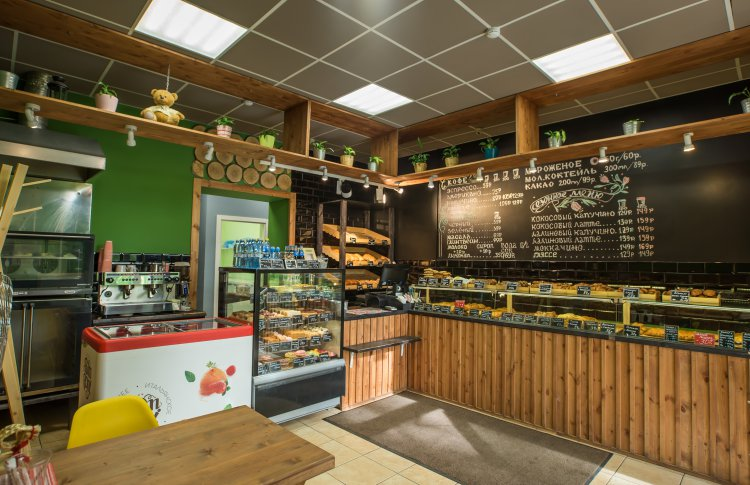 Пекарня «Мишка bakery» на Пулковском шоссе