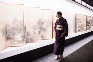 В Пушкинском музее ждут посетителей в кимоно