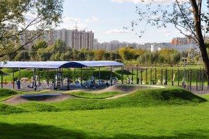 Парк 850-летия Москвы обустроили для спортсменов