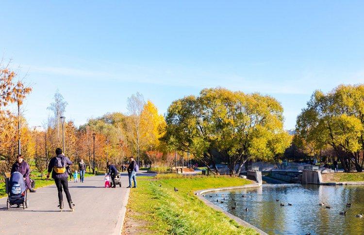 Парк у Качаловских прудов открылся после реконструкции
