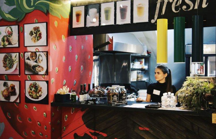Новый корнер Даниловского рынка: кафе Fresh с эволюционной концепцией