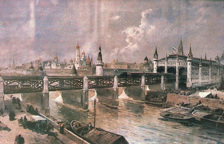 Метро в Москве могло быть построено еще до 1917 года