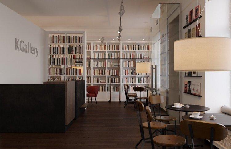 Открытие Bookcafé в KGallery