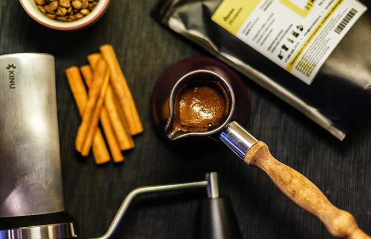 Запас свежего кофе