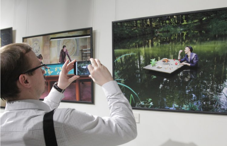 В Петербурге открылась фотовыставка OХYMORON