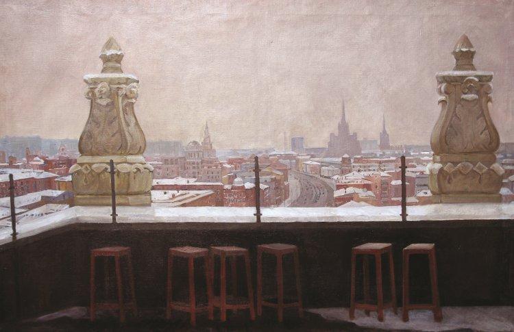 Выставка «В городе М… Зима» от «Галс-Девелопмент» и арт-группы «Сезон»