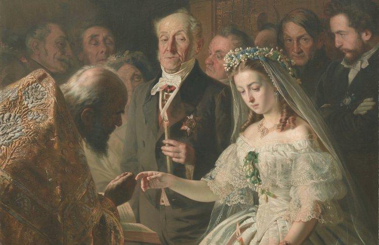 «Неравный брак», Василий Пукирев