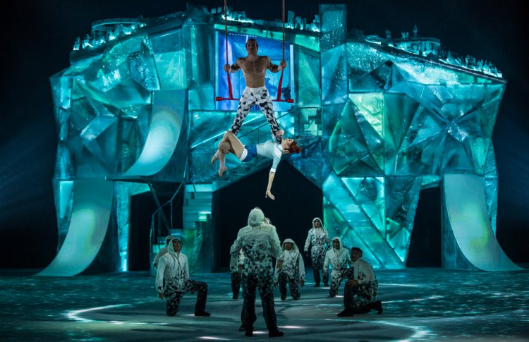В Петербурге покажут ледовое шоу Cirque du Soleil