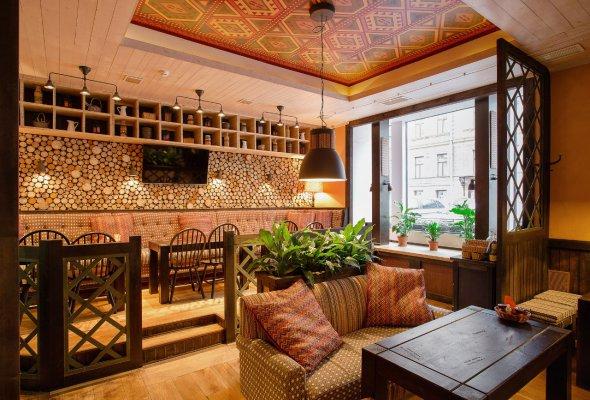 Ресторан «Пхали-Хинкали» на Большой Морской - Фото №1