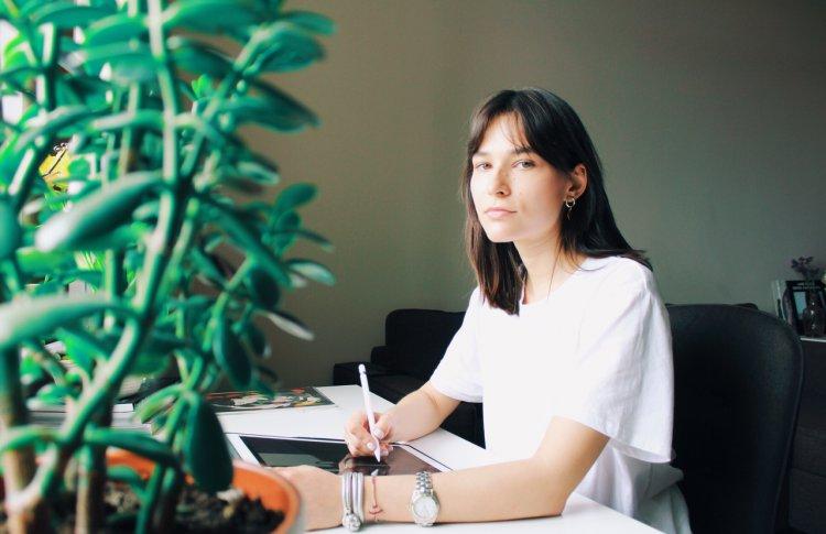 Лиза Одиноких: мои работы — декоративные, в них много деталей и прорисовки
