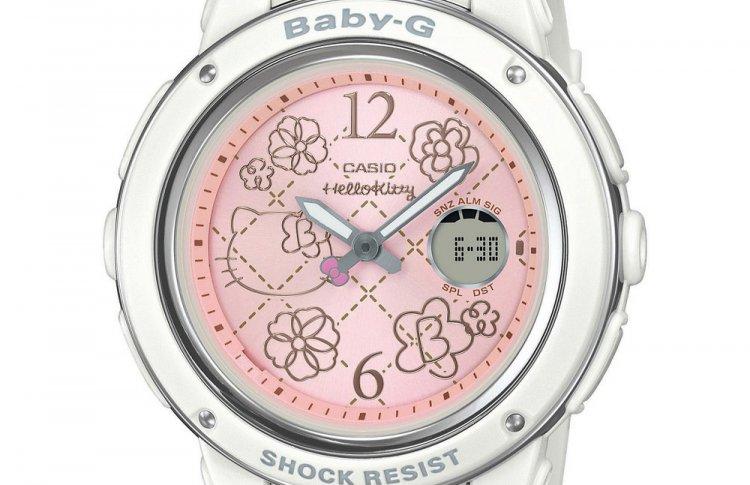 BABY-G и Hello Kitty выпустили совместную коллекцию часов
