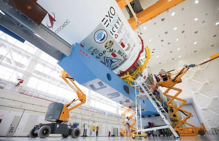 С космодрома Восточный запустили спутник «ВДНХ-80»