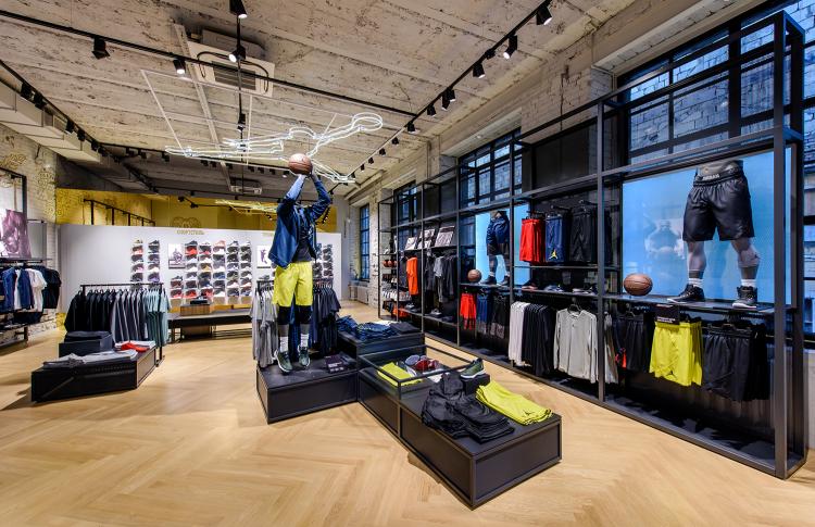 Nike на Кузнецком мосту