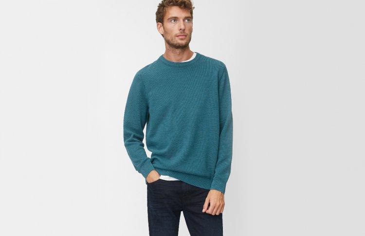 Пуловер из 100-процентного хлопка