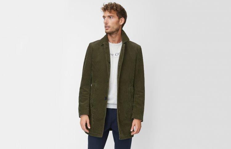 Пальто из 100-процентного хлопка