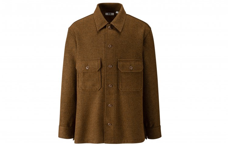 Мужской пиджак из флиса, Uniqlo U