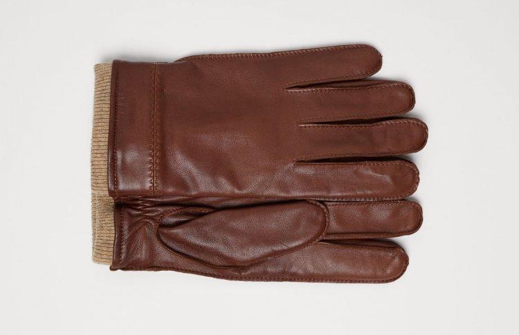Перчатки из кожи, PREMIUM QUALITY, H&M