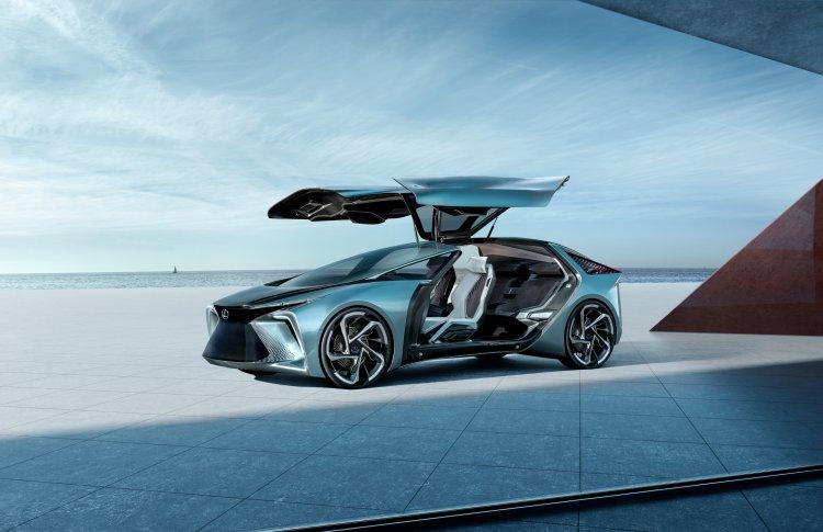 Lexus демонстрирует свое видение электромобилей будущего, представляя электрический концепт-кар LF-30 Electrified