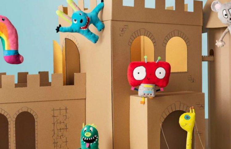 IKEA выпустила коллекцию игрушек по рисункам детей ради детей