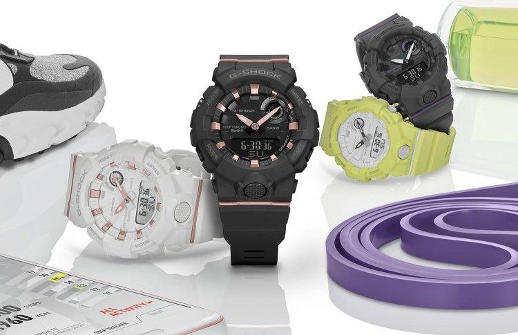 Casio представил миниатюрные спортивные часы в линейке G-SQUAD S Series