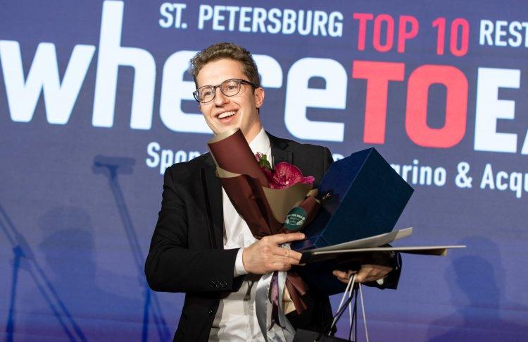 Церемония награждения победителей ресторанной премии WHERETOEAT пройдет в Петербурге