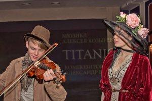 Премьера мюзикла «TITANIC. Рейс 14-01» в театре «Алеко»