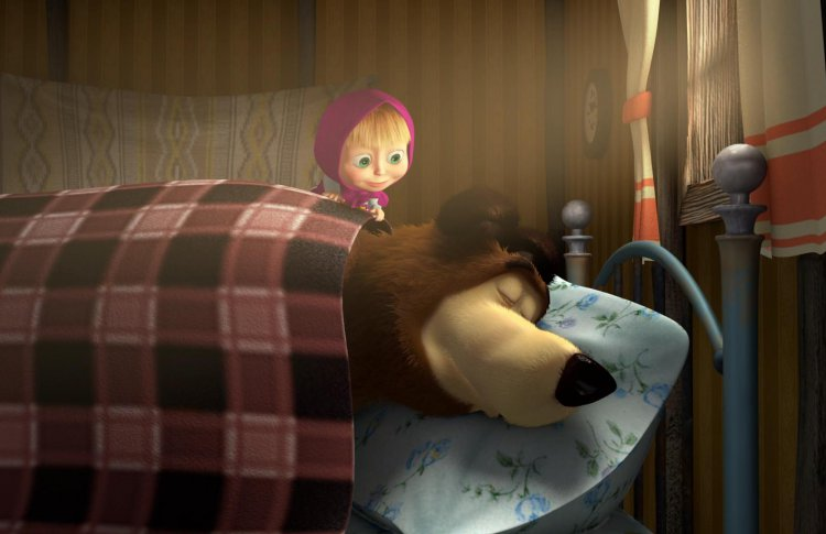 В Москве заснули медведи