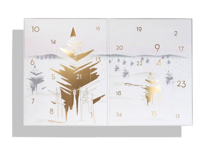 Красивые адвент-календари с косметикой