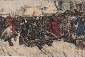 Неизвестные передвижники. Рисунок второй половины XIX века