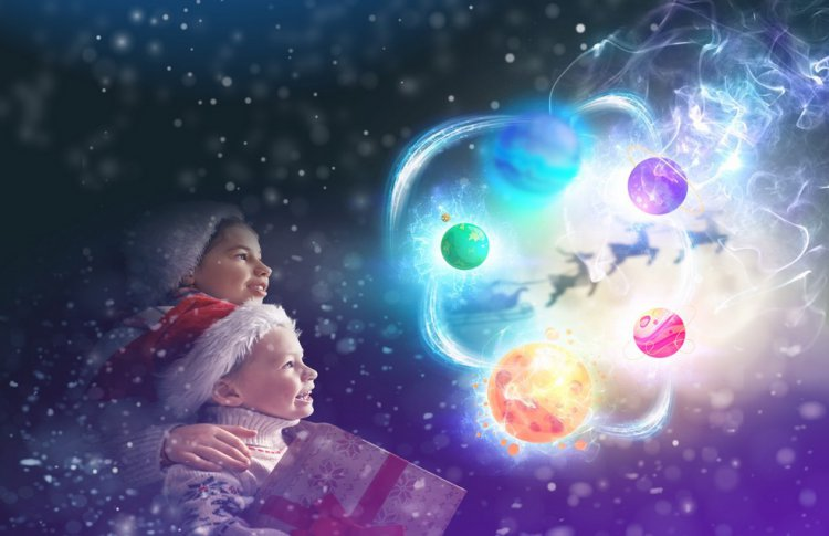 Космическая операция «Дед Мороз в беде!»