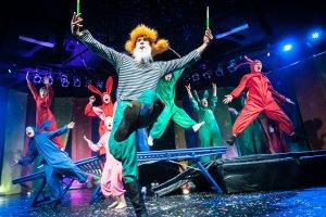 «Зайчество»: новогодний карнавал в Упсала-Цирке